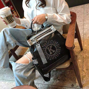 2020 nowych moda damska plecak wysokiej jakości nastolatek skórzany plecak dziewczyna szkoła dziewczyna torba na ramię Bagpack Mochila