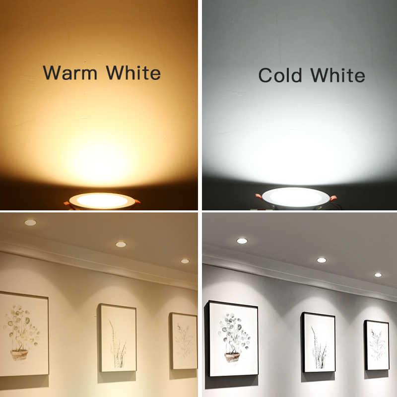 Spot lumineux Led encastrable, éclairage de grande taille, 2.5/3/4/6 pouces, 220/110V, 5/7/12/18W, idéal pour la maison
