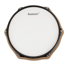 12 inch Simulation Dumb Drum Face Dumb Pad Exerciser Percussion Drum Pad Board for Drummer Exercise Training(China)