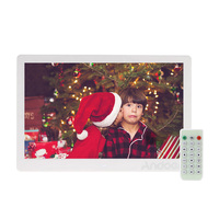 Andoer 13 Inch 1080P LED Digital Photo Picture Frame High Resolution 1920*1080 Advertising with Remote Control Gift Present