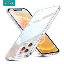 ESR Telefon Fall für iPhone 12 mini 12 Pro Max Klar Abdeckung Gehärtetem Glas Fall für iPhone 12 /12 Pro /12 Pro Max Fundas ECHO Fällen