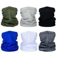 6Pcs Bandana Headband, Summer Headwear for Men Women Sun Protection Face and Neck Scarf