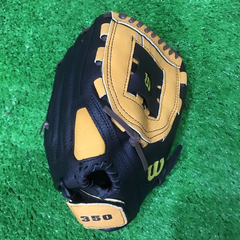 High Quanlity Pigskin Baseball Glove Size 11/12/13 Left Right Hand for Children Softball Baseball Train Gloves Adult Man Female
