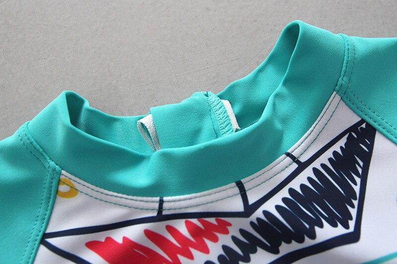 Export Hot Springs KID'S Swimwear BOY'S Split Type Swimwear Cute Infant Baby Small Children South Korea Swimming Suit Set