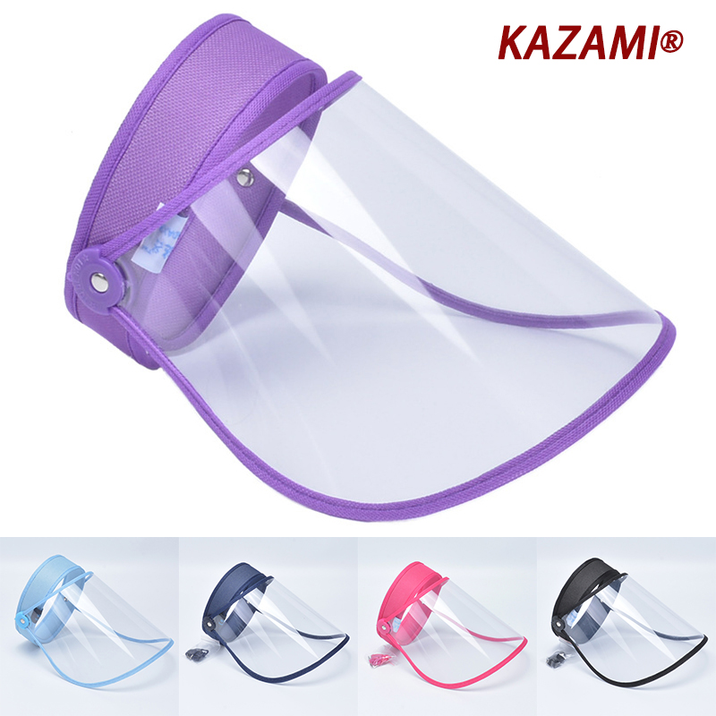 Anti Droplet Dust-proof Full Face Cover Mouth Mask Protective High quality Visor Shield Droplet Face Shield Washable Transparent