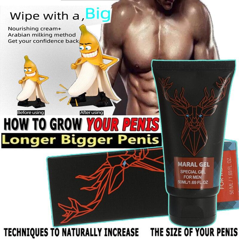 Original Russian Maral Gel Penis Enlargement Cream Titan Increase Xxl Penis Enhancer Grow Stronger Sex Lasting Long Viagra Pills