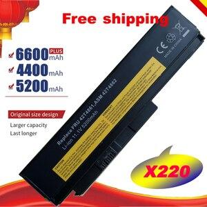 HSW Laptop battery For Lenovo Thinkpad X220 X220I X220S X220 X220I 45N1172 45N1022 45N1024 45N1025 6 core high cap fast shipping