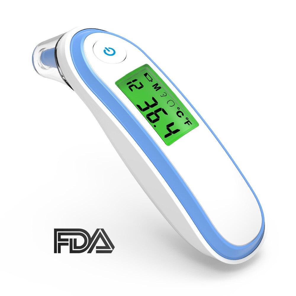 BOXYM médical ménage infrarouge fièvre thermomètre numérique bébé adulte sans contact Laser température du corps oreille thermomètre CE FDA