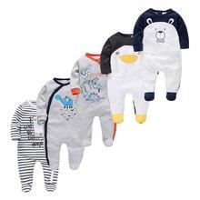 2020 Newborn Baby Sleepwear Rompers Cartoon Infant Baby