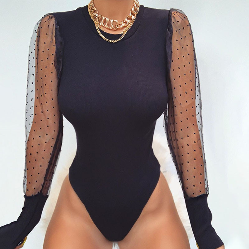 puff sleeve bodysuit women09