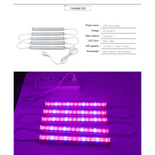 Plant Growth Lamp LED Indoor Garden Plant Lamp UV Hydroponic System Home Tent Vegetable Plant Cultivation Lamp