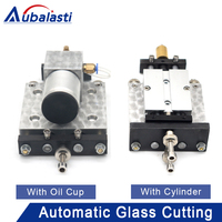 Aubalasti Full Automatic Glass Cutting Machine Double Column Cutter Box With Oil Cup With Cylinder CNC Cutter Box