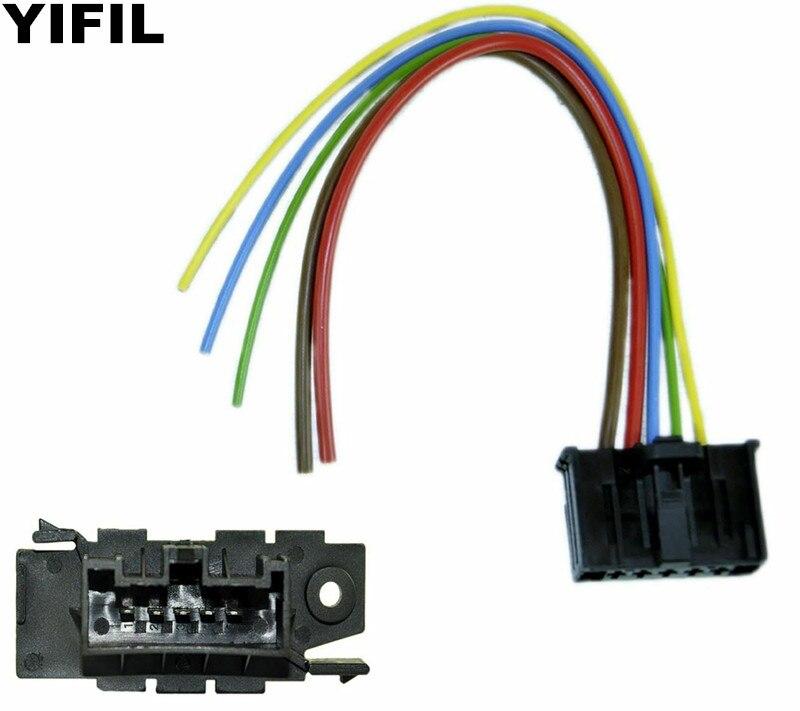 Heater Blower Motor Fan Resistor Wiring Loom Harness For Fiat Punto Doblo Qubo 1