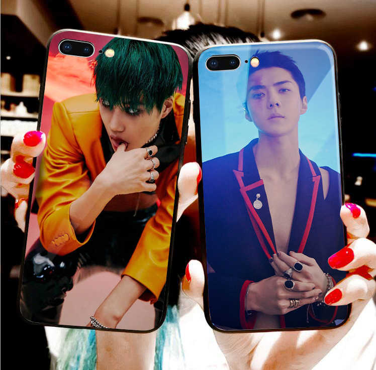 EXO Obsession black soft phone case For huawei p30 pro p30 lite p20 pro p10 mate 20 p10 lite honor 9 lite honor 10 lite honor 8x
