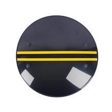 Bouclier rond de sécurité portable, équipement de sécurité, noir et vert, matériel de Protection pour PC, entraînement tactique, jeu d'auto-Protection