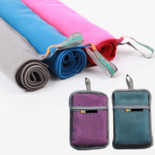 Пляжное полотенце из микрофибры, быстросохнущее полотенце для путешествий, для плавания, спортивное полотенце для бассейна, для велоспорта, для йоги, пляжное полотенце с сумкой