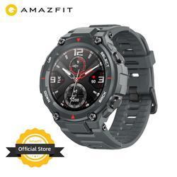 Baru 2020 CES Amazfit T-Rex T Rex Smartwatch 5ATM 14 Olahraga Mode Smart Watch GPS/GLONASS MIL-STD untuk Xiaomi Ios Android