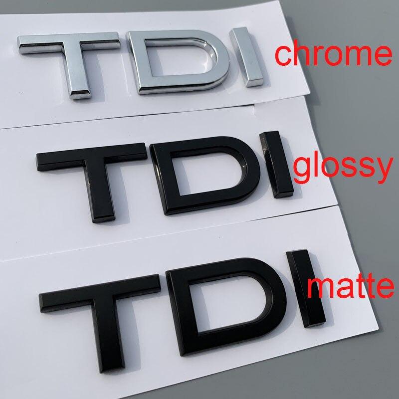 3.0 TDI Schriftzug chrom
