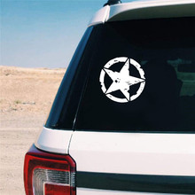 1Pcs Car Stickers 15cm*15cm Star Graphic Decals Motorcycle Car Body Window Stickers Vinyl Car-styling Car Stickers cheap The Whole Body cartoon Glue Sticker Not Packaged 0 01inch QPXT0098