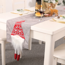 New Creative Table Runner Home Decorative Carpet Christmas Decorations Santa Claus Runners 180*33cm