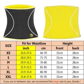 LANFEI Men Waist Trainer Belts Sauna Slimming Body Shapers Girdle Neoprene Workout Sweat Belly Trimmer Corset for Weight Loss 6