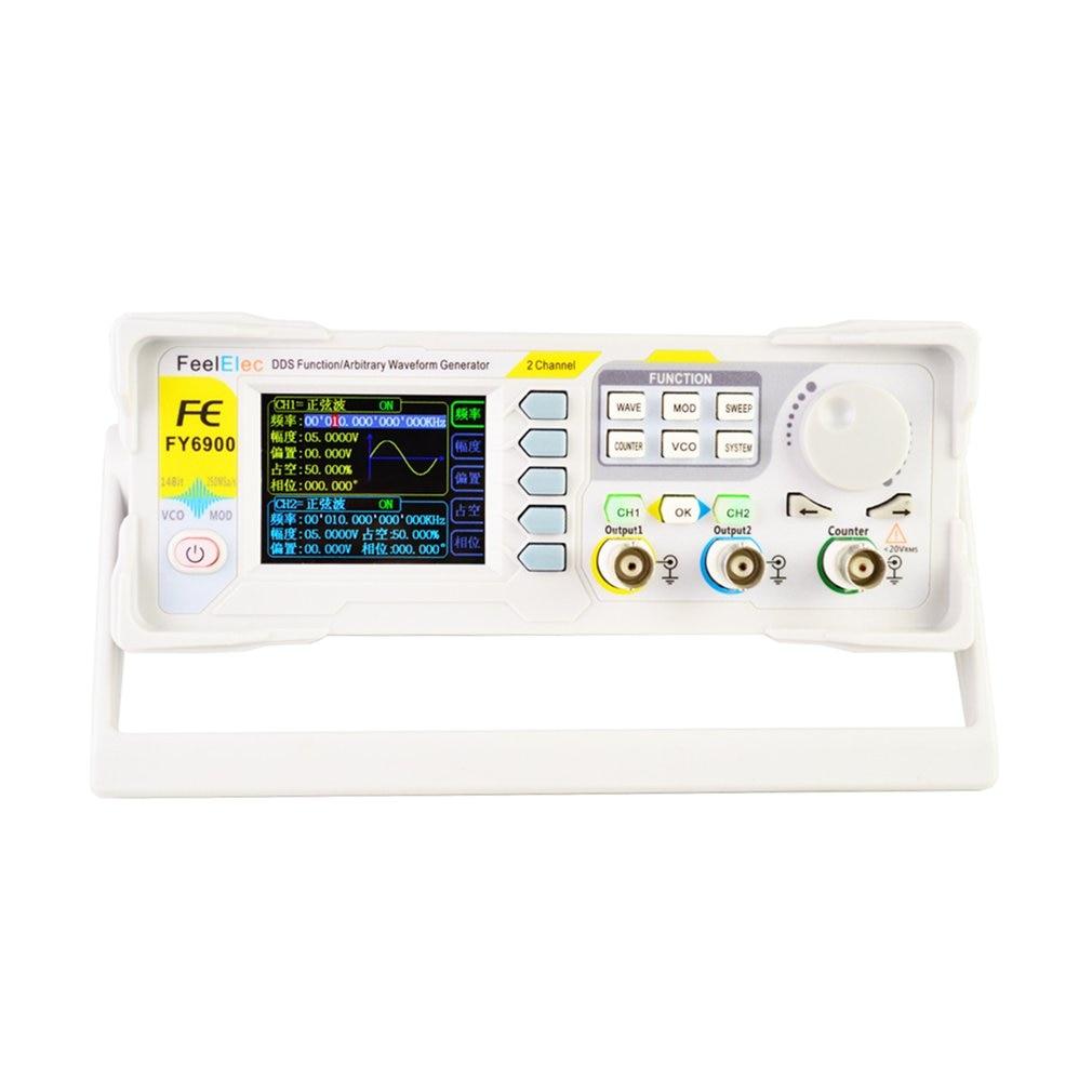DDS двухканальный цифровой генератор сигналов произвольной формы, 250MSA/s, 15 МГц, 14 бит, измеритель частоты, распродажа