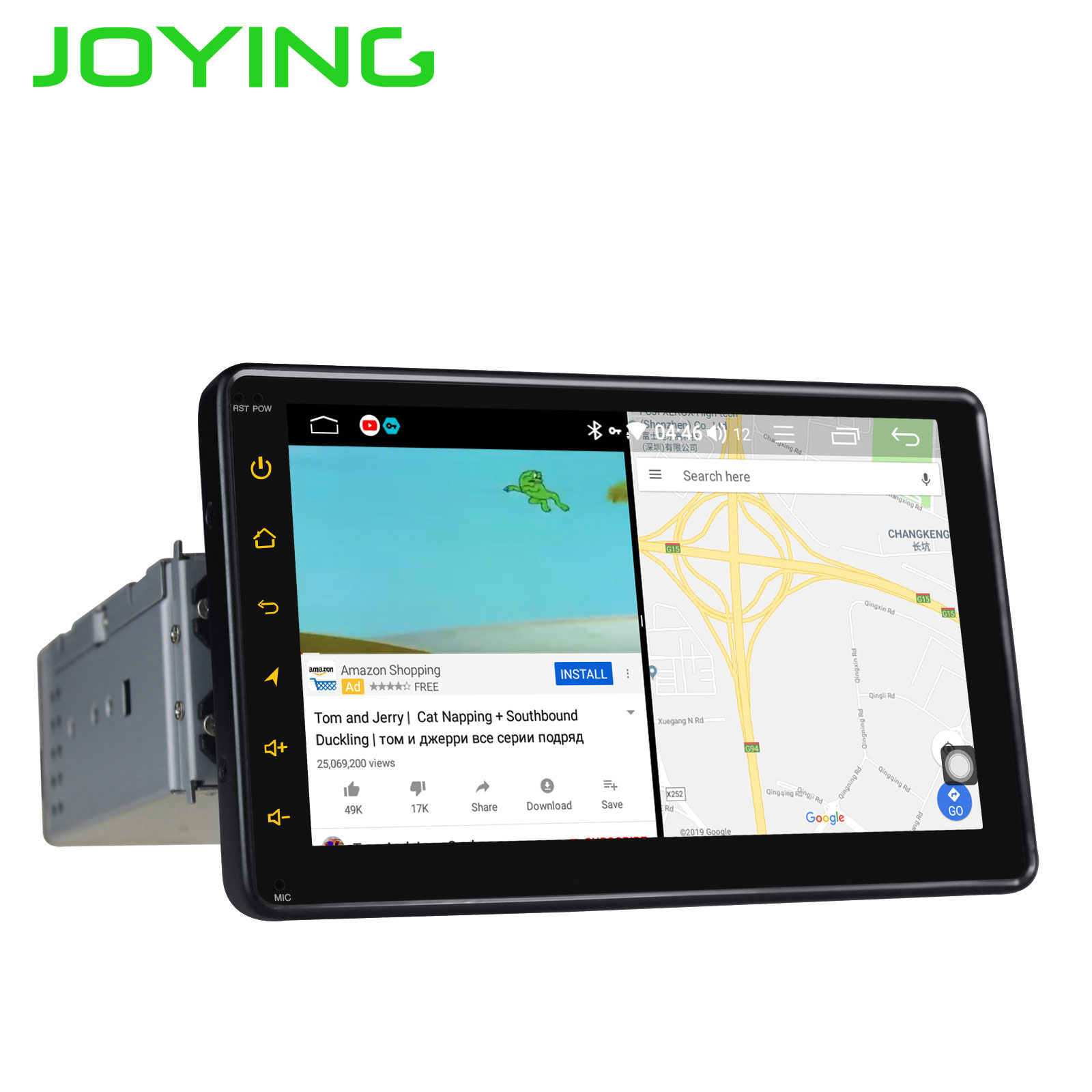 """Image 4 - 7"""" Head Unit Single Din Octa Core Android 8.1 Universal Car Radio Stereo Multimedia No DVD Player Built in 4G Module DSP Carplay-in Car Multimedia Player from Automobiles & Motorcycles"""