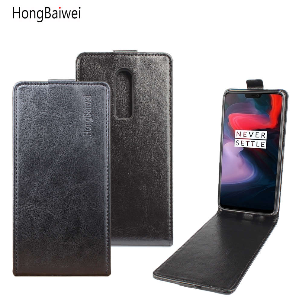 Oneplus 6 Case Luxury Flip Leather Cases for Oneplus 6 5 5T A5010 Coque Oneplus 2 Protective Wallet Phone Cover Oneplus X 3 ONE