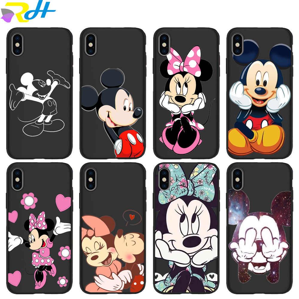 Minnie Mickey iPhone 6 6s 7 8 x 11 Soft