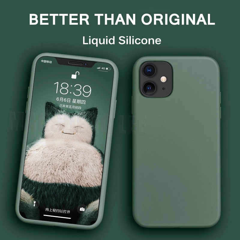 Silikonowe etui z płynem do iphone 11 Pro Max X XS Max XR cukierki kolor Ultra cienkie miękkie etui do iphone 7 8 6 6S Plus walizki