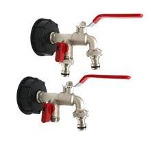 Ibc соединитель топливного бака двойной для садовой воды адаптер