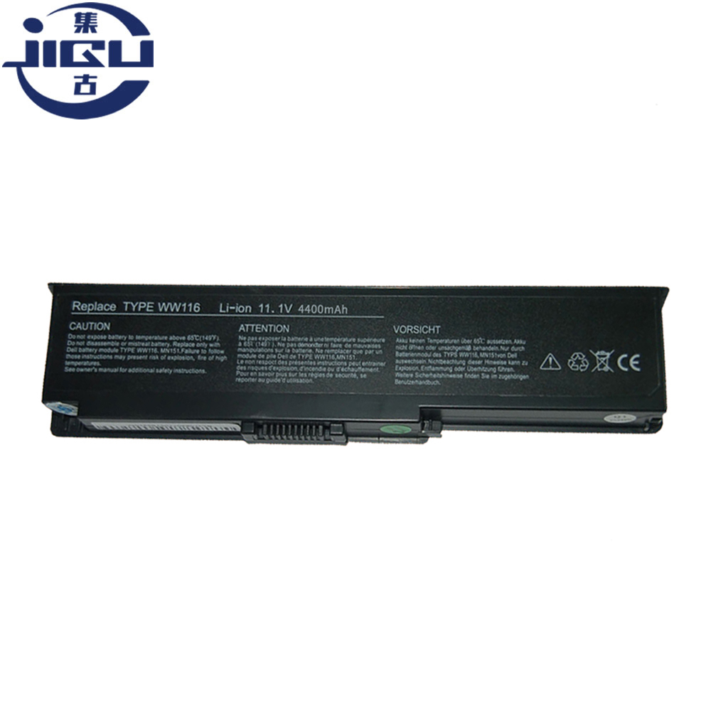 JIGU Replacement Laptop <font><b>Battery</b></font> WW116 312-0543 312-0584 451-10516 FT080 FT092 KX117 NR433 For <font><b>Dell</b></font> <font><b>Inspiron</b></font> <font><b>1420</b></font> Vostro 1400 image