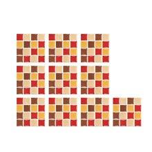 Novo 2021 adesivos 10pc 3d telha de cristal adesivos diy impermeável auto-adesivo adesivos de parede novo estilo de etiqueta
