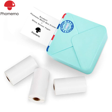 Phomemo M02S Portable Pocket Thermal Printer Cheap Mini Bluetooth Thermal Inkless Printer Photo Mobile Hand Held Small Printers cheap Wired Wireless 53mm CN(Origin) Auto 12ppm 100-240V Personal Work Management 256MB Universal ticket printer 60mm s 1 5kg
