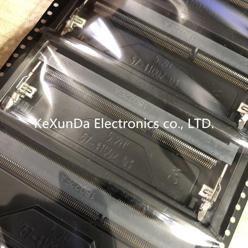 Разъемы типа DDR3 1 шт./лот 2-2013289-1, разъемы для карт памяти, модель 204P, высота розетки 5,2 мм вперед
