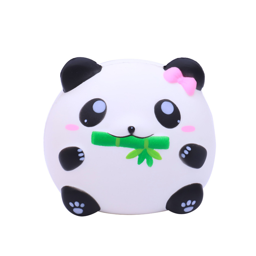 Cute Antistress Panda Slow Rising Decompression Toys Cartoon Animal Doll Soft Squeeze Toy Children Funny Gadgets #B