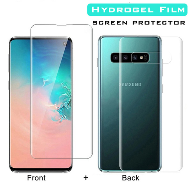 20D Front Back Full Cover Hydrogel Film For Samsung Galaxy S9 S8 S10 Plus Screen Protector For Note 8 9 10 Plus S10e Not Glass 6