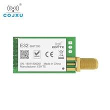 SX1276 TCXO 868MHz 20dBm لورا UART ebyte E32 868T20D rf لمسافات طويلة SMA K موصل جهاز ريسيفر استقبال وإرسال وحدة rf اللاسلكية