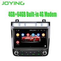 """8 """"jednostka główna Android akcesoria samochodowe radio stereo dla volkswagena VW Touareg odtwarzacz multimedialny WIFI 4G DSP Carplay magnetofon"""
