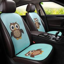 New Universal Car Seat Cushion Summer Cooling Cartoon Cushion Home Chair Seat Ice Pad 3D Mesh Ice Backpad for Car Office Seat недорого