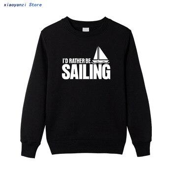 2020 sweatshirts Men Cotton Leisure Style Brand Clothing Casual women pullovers Sail Boat Men's hoodies Plus Size