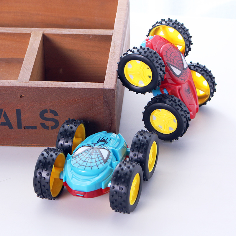 Double-sided Dump Truck Inertial Car 360 Rotation Resistance To Fall Off Children Creative Fashion Birthday Gifts Toy