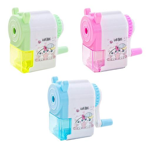 Korean Style Pencil Sharpener Mechanical Accessories Creative Cartoon Pencil Sharpener Student Pencil Sharpener For School