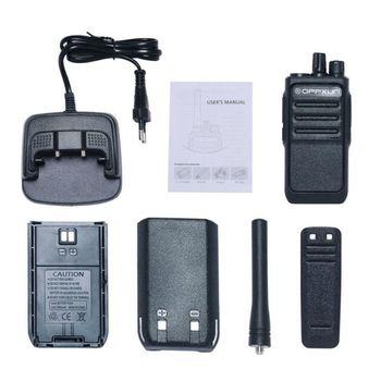 OPPXUN OPX-338 Walkie Talkie UHF 400-470 MHZ Portable Ham Radio Station 8W Long Range for Hunting Telsiz Two Way Car Cb Radio 6