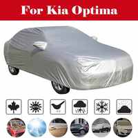 Car Truck RV Covers Waterproof Cover Tarpaulin Groundsheet Camping Light Weight Tarp for Car Outdooors For Kia Optima
