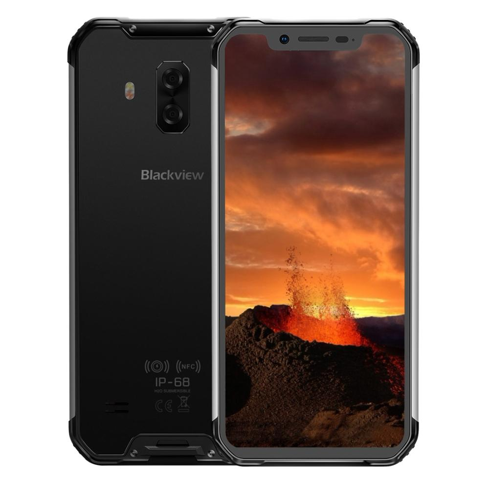 Blackview BV9600E Phone Rugged IP68 Waterproof 4GB+128GB Mobile Helio P70 Android 9.0 Smartphone 6.21 FHD AMOLED NFC 5580mAh image
