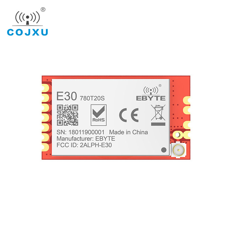 E30-780T20S SI4464 780MHz Wireless Module Long Range 2.5km Ebyte Air Wake-up UART Module SMD Transceiver Fixed Wireless Terminal