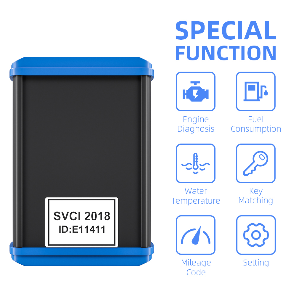 obd2 Car Diagnostic SVCI FVDI 2018 ABRITES Scanner Covers All Functions Of FVDI 2014 2015 Most