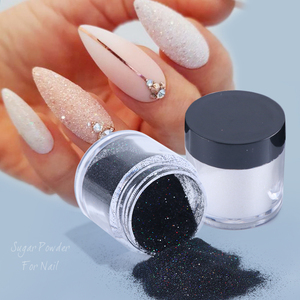 Holographic Nail Powder Chrome Pigment Dip Sugar Nail Art Glitter Dust 2019 Flake Nail Art Decorations Manicure SAMN