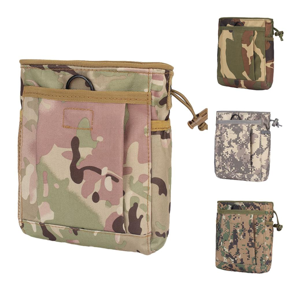 Drawstring Bags Portable Camouflage Print Dump Drop Bag Outdoor Drawstring Nylon Storage Worek Plecak Sznurek мешок для обуви